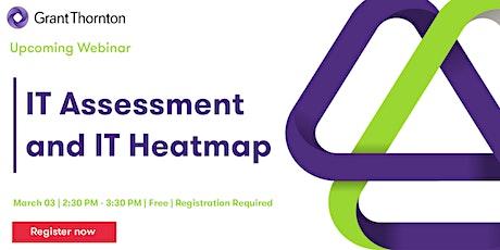 Webinar - IT Assessment and IT Heatmap tickets