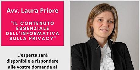 Il contenuto essenziale dell'informatica sulla privacy biglietti