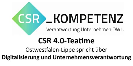 CSR 4.0-Teatime @ Caritasverband Erzbistum Paderborn biglietti