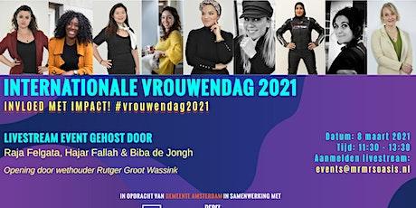 Int.Vrouwendag Amsterdam 2021 tickets