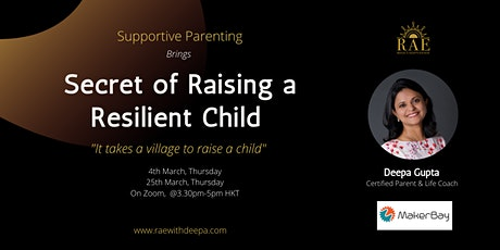 Secrets of Raising a Resilient Child tickets