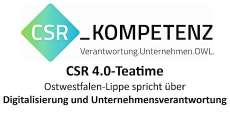 CSR 4.0-Teatime @ DGB Region OWL Tickets