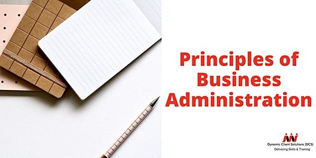 Register your Interest: Level 2 Cert Principles of Business Administration tickets