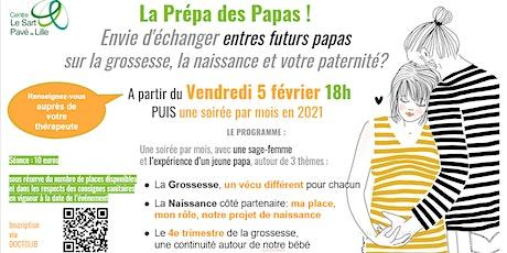 Copie de Atelier PERINATALITÉ :  La Prépa des Papas tickets