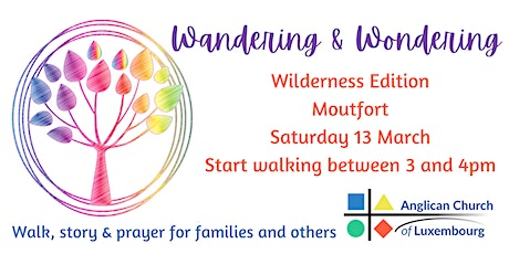 Wandering and Wondering – A Lent Walk for Families, open to all tickets
