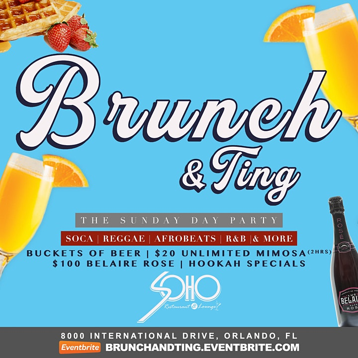 Brunch & Ting: Sunday Day Party image