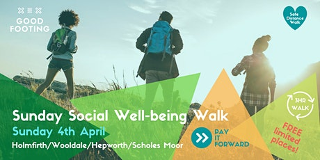 Good Footing - Sunday Social - April Well Being Walk tickets
