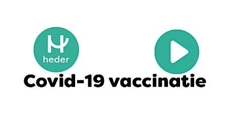 Vaccinatie De Kluiver woensdag 3 maart 2021 en woensdag 24 maart 2021 tickets