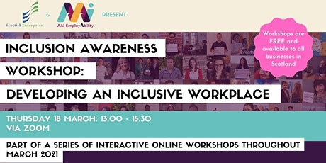 Inclusion Awareness Workshop: Developing an Inclusive Workplace tickets