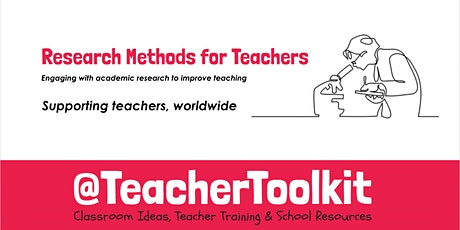 Research Methods for Teachers tickets