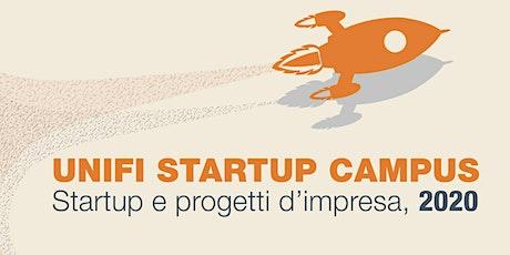 Unifi Startup Campus: startup e progetti d'impresa 2020 biglietti