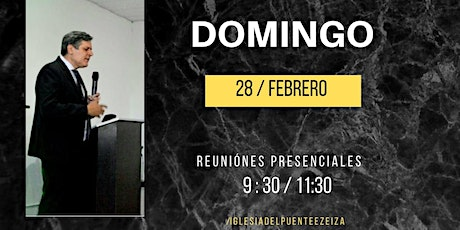 CULTO GENERAL DOMINGO 11:30 HS. entradas