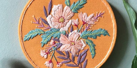 CONTEMPORARY EMBROIDERY WITH LUCY FREEMAN - FREE tickets