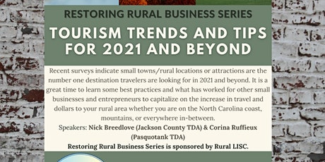 Tourism Trends and Tips for 2021 and Beyond tickets