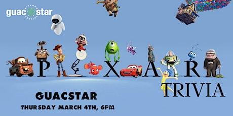 Disney Pixar Movie Trivia at GuacStar tickets