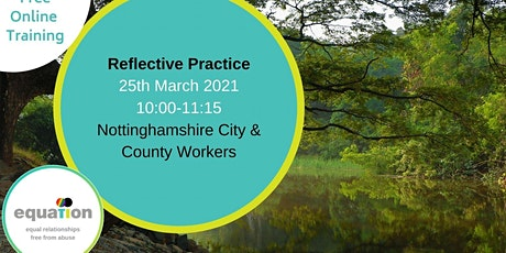 Reflective Practice (City and County workers) tickets