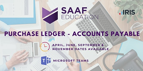 IRIS/ PS Financials: Purchase Ledger – Accounts Payable (SAAFW105) tickets