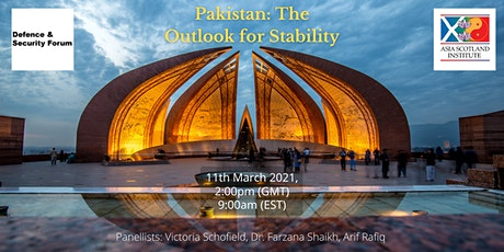 Pakistan: The Outlook for Stability tickets