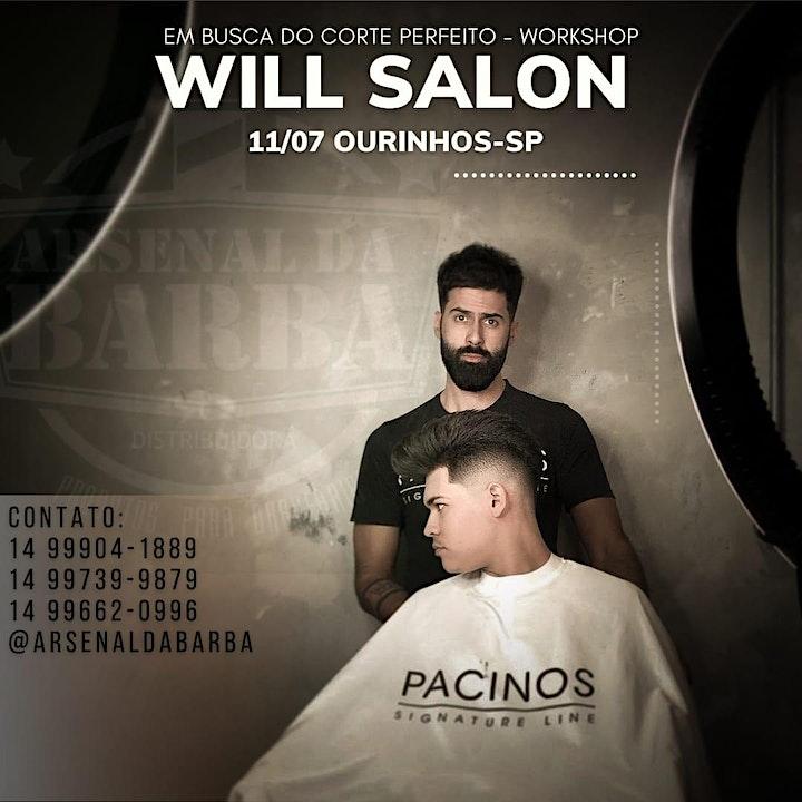 Imagem do evento Will Salon workshop em Ourinhos SP