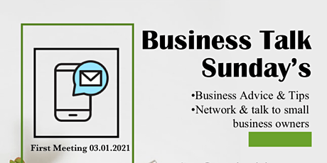 Business Talk Sunday's tickets