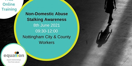 Non-Domestic Abuse Stalking Awareness (City and County workers) via Teams tickets