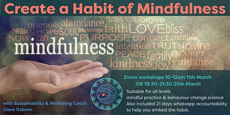 How to create a Mindfulness Habit tickets