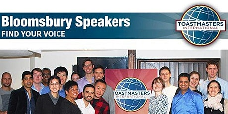 Bloomsbury Speakers OPEN HOUSE! Public Speaking Practice Online tickets