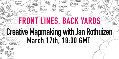 Creative Mapmaking with Jan Rothuizen tickets