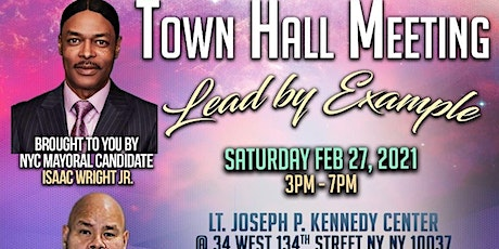 LEAD BY EXAMPLE TOWNHALL tickets
