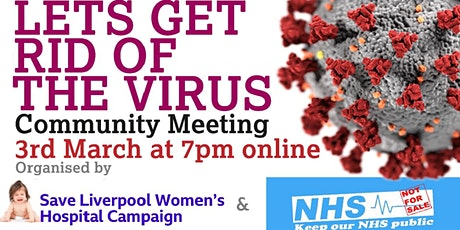 Let's  Get Rid of The Virus! tickets