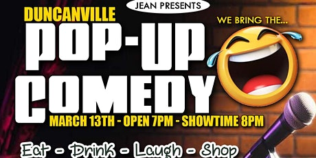 Duncanville Pop-Up Comedy tickets