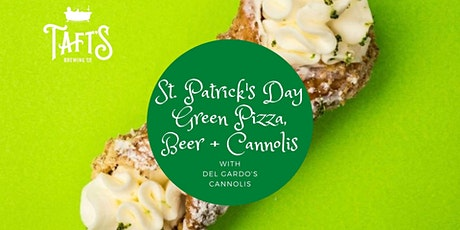 St. Patrick's Day Green Pizza, Beer + Cannolis tickets