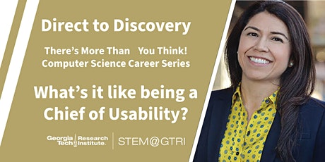 Direct to Discovery - What's it like to be a Chief of Usability? tickets