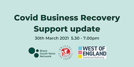 Covid Business Recovery Support update Tickets