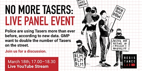 No More Tasers: Live Panel Discussion tickets