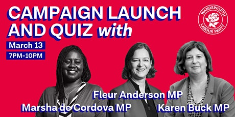 Wandsworth Labour - Campaign Launch and Quiz tickets