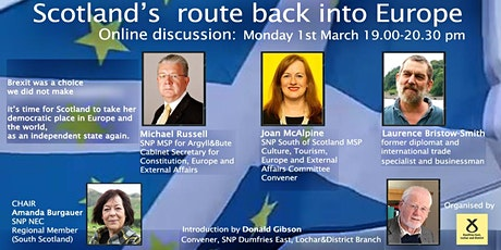 Scotland's Route Back Into Europe tickets