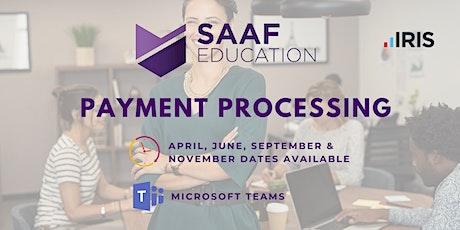 IRIS/ PS Financials: Payment Processing (SAAFW104) tickets