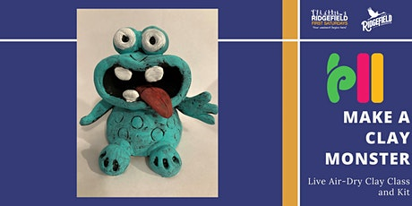 First Saturday: Clay Monster Live Class tickets