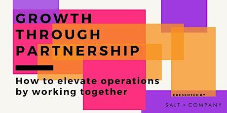 Partnership Masterclass entradas