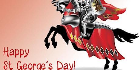 St Georges Day Online Drinks Celebration tickets