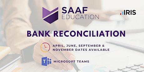 IRIS/ PS Financials: Bank Reconciliation (SAAFW103) tickets
