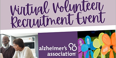 Alzheimer's Association Virtual Volunteer Recruitment Event tickets