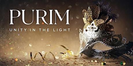 Purim: Unidade na Luz bilhetes