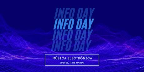 INFO DAY   Producción de Música Electrónica entradas