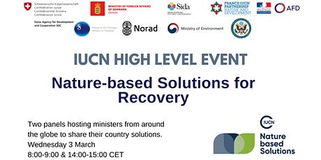 Nature-based Solutions for Recovery (Afternoon Session) tickets