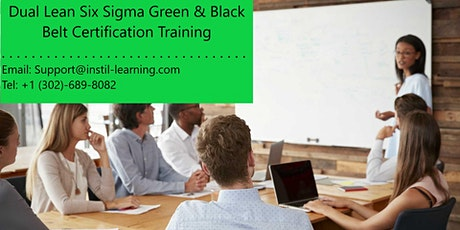 Dual Lean Six Sigma Green & Black Belt Training in Baltimore, MD tickets
