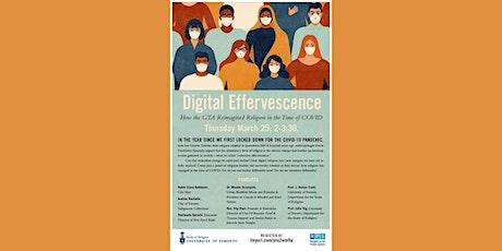 Digital Effervescence tickets