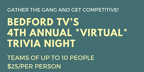 Bedford TV Annual Trivia Night Fundraiser tickets