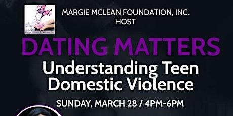 Dating Matters: Understanding Teen Domestic Violence w/Monika Gauthier tickets